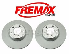For BMW F22 F23 F30 435i Set of Front Left & Right Brake Rotors Fremax Painted