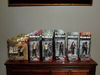 Mcfarlane Toys Walking Dead Series 2, 4, 5, 6, 7 Assorted Action Figures