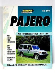 Gregory's Service and Repair Manual No. 508 - Pajero NA - NG Series 1983 - 1991