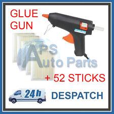 50w Electric Hot Melt Glue Gun Plus 52 Glue Sticks 11mm X 100mm