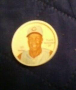 1962 Salada Baseball Coin Frank Robinson #165 near mint-mint (see scan)