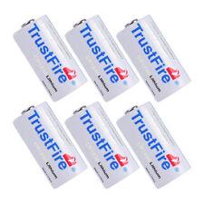 6pcs CR123A 1400mAh 3.0V CR17345 DL123A Li-ion Battery EL123 For Camera Photo