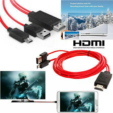 MHL Micro USB to HDMI 1080P HD TV Cable Adapter For Android Phones Samsung LED