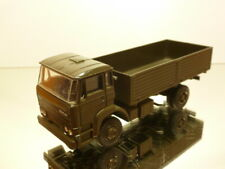 LION CAR DAF 1900 TURBO MILITARY TRUCK - ARMY GREEN 1:50 - VERY GOOD CONDITION