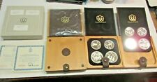 Olympic Coin Proff Set Montreal 1976 Olympade Xxi