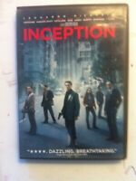 Inception DVD 2010 Warner Bros Leonardo DiCaprio Tom Hardy