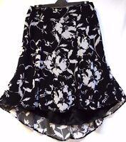 TS skirt TAKING SHAPE EVENT WEAR plus sz M / 20 'Painterly Petals' NWT rrp$160!