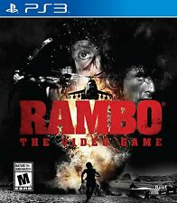 Rambo: The Video Game  (Sony Playstation 3, PS3)