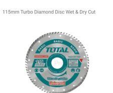 Baldosa cerámica Turbo delgada Húmedo/Seco De Diamante Hoja Cortante/Disco amoladora rueda 115 mm