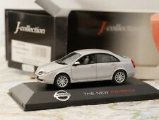 J-COLLECTION NISSAN THE NEW PRIMERA SILVER  ART. JC09009G  1:43 DIE- CAST NEW