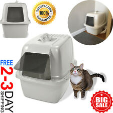 New ListingCat Litter Box Self Cleaning Automatic Roll N Clean Removable Tray Waste Scoop