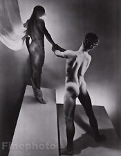 1936/81 Surreal MALE NUDE Butt Greek Mythology Orpheus GEORGE PLATT LYNES 16x20