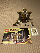 Lego 75900 Scooby Doo Mummy Museum Mystery 100% complete w/ new stickers; manual