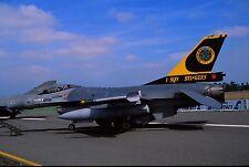 Original colour slide F-16A spcl. FA47 of 1 Sqdn. Belgian Air Force