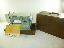 Vintage Heavy Zig Zag 975 Electric Sewing Machine Not Tested As Is