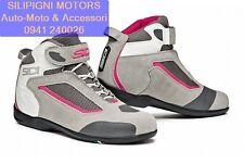 Sidi gas Stivali da Moto Grigio/rosa 42 (j9t)