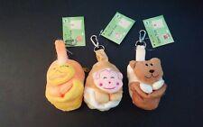 Adorable Eco Travel Shoulder Pouch Tote Handbag Folding Reusable Bag lot of 3