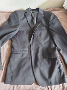 WE Fashion Herren Anzug Business Gr. 48 Schwarz Gebraucht Top Zustand