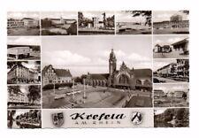 Germany - Krefeld, Multiview - Vintage Real Photo Postcard