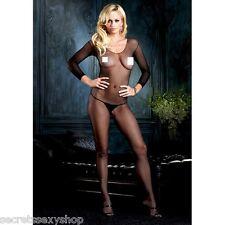 CATSUIT Bodystocking Aperta tuta SEXY Lingerie shop intimo suspender hot