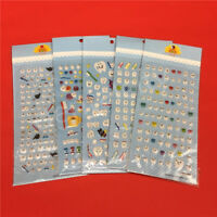 Dental Cute molar shaped cartoon plastic sticker for Dental gift kids scrapbook