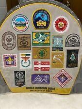 """1991 World Jamboree Series Massive Jacket Patch - 14 1/4"""" x 14 1/2"""""""