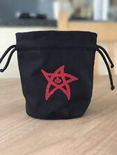 Cthulhu 'Elder Sign' Dice Bag in 'Red'