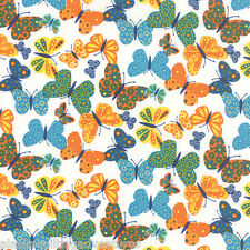 MODA Fabric ~ ON THE WING ~ by Abi Hall (35262 11) Cloud - by the 1/2 yard