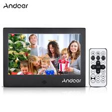 "Andoer 7 ""LED Cornice digitale 720P Video / Musica / Calendario / H4K8"