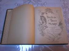 Bariton and Bass Songs; C.A White et.al.  1883