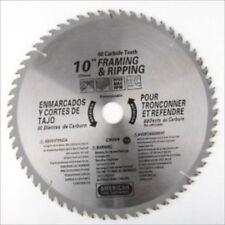 "10"" 60 Tooth Carbide Tip Wood Tipped Circular Round Power Saw Blade"