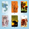 Wild Elephant Wallet Case Cover for iPhone XS MAX XR X 8 7 6 6S Plus SE 5S 042