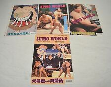 Sumo World Magazines 1997 4 issues