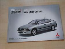53942) Mitsubishi Carisma Silver Prospekt 02/2002
