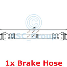 Apec Braking 235mm Disc Brake Caliper Flexible Rubber Hose HOS3629