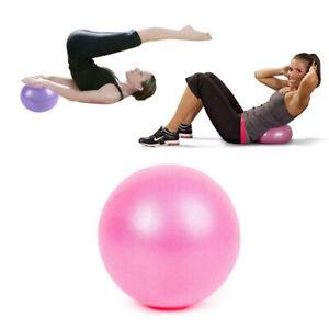 25cm Yoga Ball Exercise Pilates GYM Home Fitness Balance Ball AU