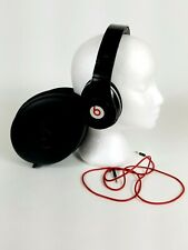 Beats by Dr. Dre Studio Wired Monster Headphones Black and Red with case