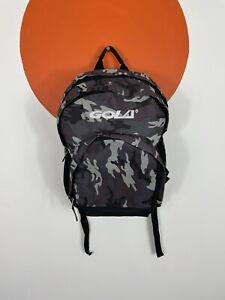 Men's Gola Camouflage Camo Rucksack School Gyms Sport BackPack Grey Black Unisex