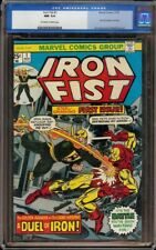 Iron Fist # 1 CGC 9.4 OW/W (Marvel, 1975) 1st issue of stories