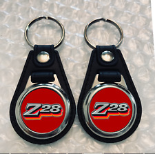 Z28 KEYCHAIN SET 1978 2 PACK RED FOB