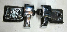 Sunbeam Tiger / Alpine Hardtop LH & RH Body Side Latch Toggle Chroms Latches Pr