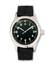 EAGLEMOSS SOUTH AFRICAN PILOT 1950's REPLICA MILITARY WATCH #63 NEW IN BOX £4.99