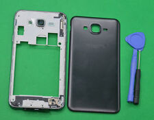 For Samsung Galaxy J7 SM-J700 BLACK Housing Middle Frame Battery Cover
