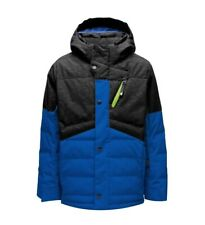 Spyder Trick Synthetic Down Ski Jacket - Boys - 10, Old Glory