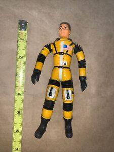 1966 Mattel Major Matt Mason - DOUG DAVIS  Figure Rare Yellow Good Wires