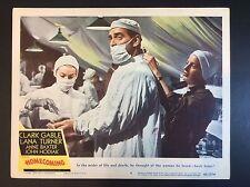 "11"" x 14"" CLARK GABLE  ""HOMECOMING"" 1948 ORIGINAL LOBBY CARD MOVIE THEATER PROMO"