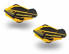 Powermadd Sentinel Replacement ATV Handguards Guards Ski Doo Yellow Black 34401