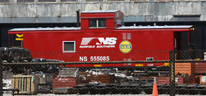 Norfolk Southern Cabooses Decals w/Soaring Logo HO171