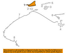HYUNDAI OEM 15-16 Genesis-Antenna 96210B1410EB