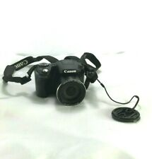 Canon PowerShot SX500 IS Digital Camera 30x Zoom 1:3.4-5.8 Lens for parts only